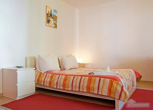 Studio red apartment with balcony, Studio (24233), 001