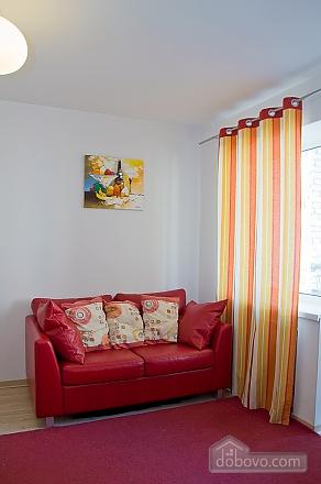 Studio red apartment with balcony, Studio (24233), 004