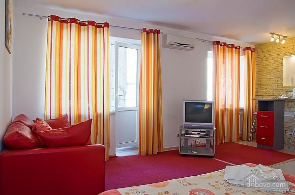 Studio red apartment with balcony, Studio (24233), 005