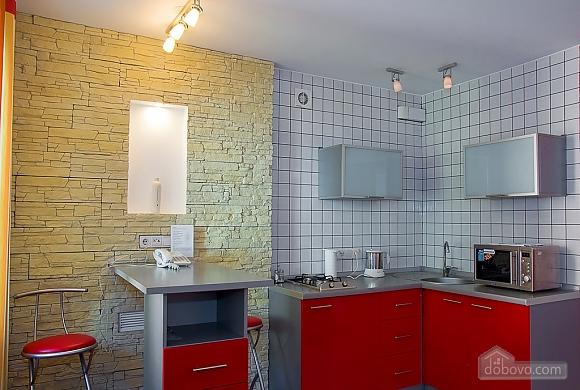 Studio red apartment with balcony, Studio (24233), 006