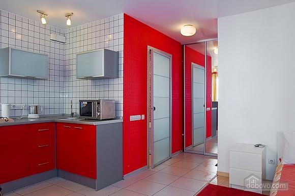 Studio red apartment with balcony, Studio (24233), 008