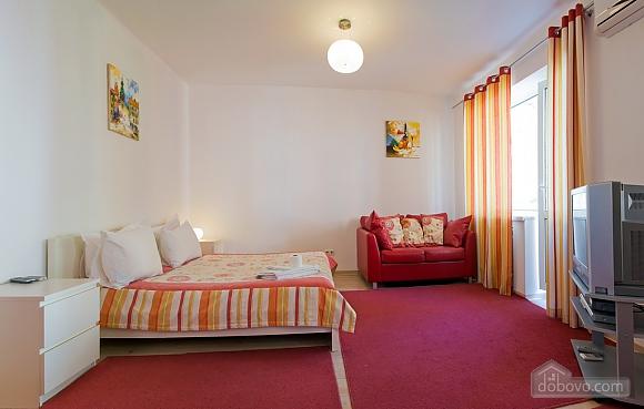 Studio red apartment with balcony, Studio (24233), 010