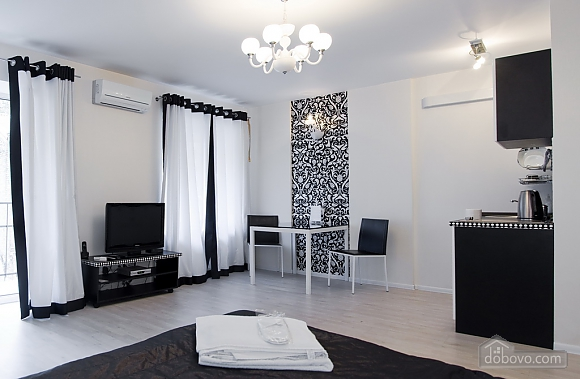 Studio Black&White apartment with balcony, Studio (69265), 003