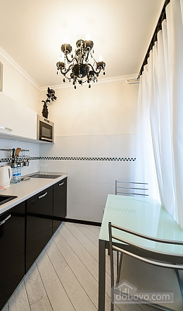 Luxury one-bedroom king-size bed apartment with bath and shower, One Bedroom (91847), 008