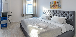 Ground floor studio apartment with king-size bed, Monolocale, 001