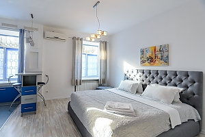 Ground floor studio apartment with king-size bed, Monolocale, 002