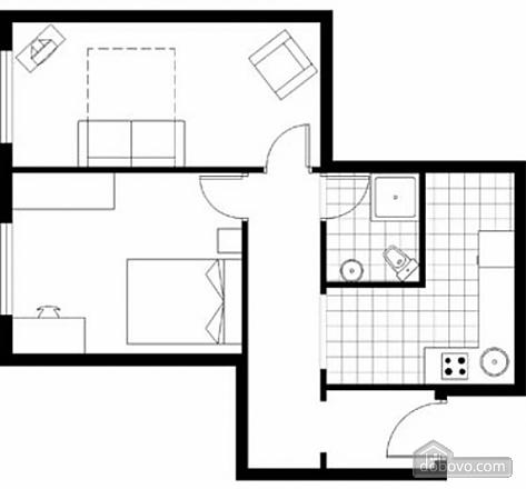 1 Екатерининская, 2х-комнатная (48002), 012