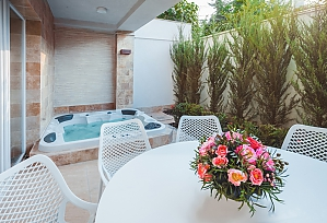 Premium cottage with swimming pool, Una Camera, 003