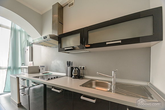 Modern one bedroom Jacuzzi apartment with kitchen and sofa bed, One Bedroom (76251), 003