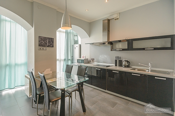 Modern one bedroom Jacuzzi apartment with kitchen and sofa bed, One Bedroom (76251), 004