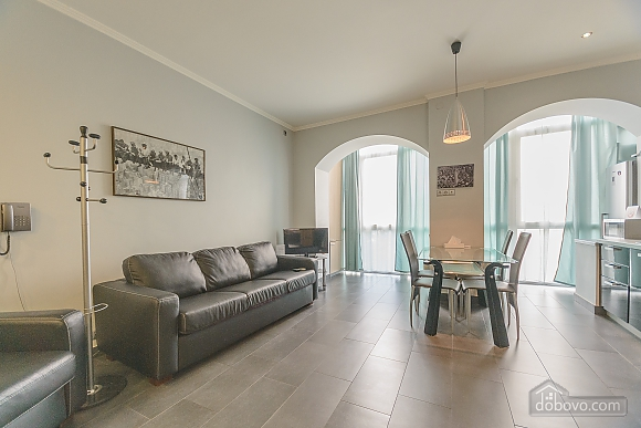 Modern one bedroom Jacuzzi apartment with kitchen and sofa bed, One Bedroom (76251), 009