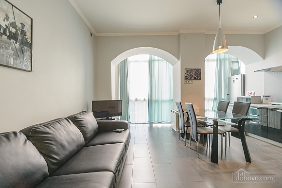 Modern one bedroom Jacuzzi apartment with kitchen and sofa bed, One Bedroom (76251), 011