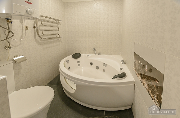 Modern one bedroom Jacuzzi apartment with kitchen and sofa bed, One Bedroom (76251), 012