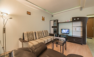 Comfortable one-bedroom apartment street view, Un chambre, 001