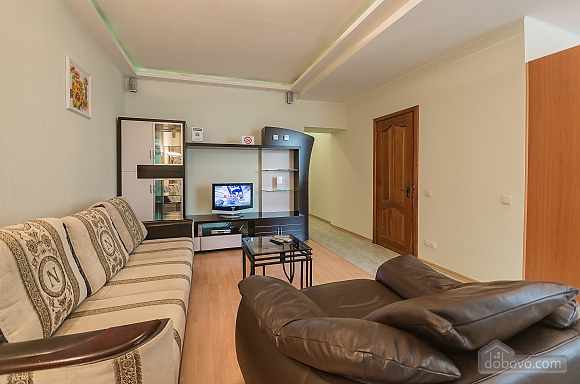 Comfortable one-bedroom apartment street view, Un chambre (12638), 002