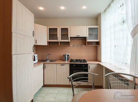 Comfortable one-bedroom apartment street view, Un chambre (12638), 007