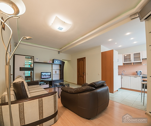 Comfortable one-bedroom apartment street view, Un chambre (12638), 009