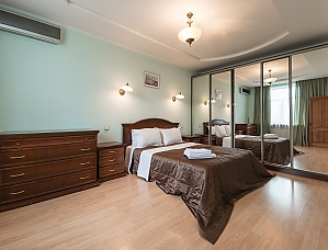 Comfortable one-bedroom apartment street view, Un chambre, 011
