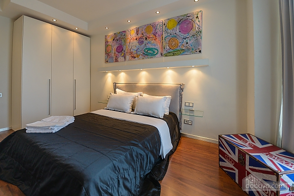 Stylish Jacuzzi one bedroom apartment with balcony and sofa bed, Zweizimmerwohnung (84236), 003