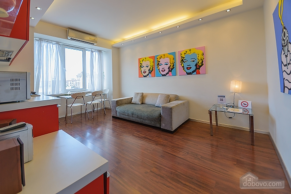 Stylish Jacuzzi one bedroom apartment with balcony and sofa bed, Zweizimmerwohnung (84236), 004