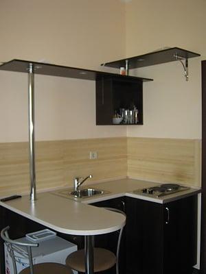 Квартира в центрі в новому будинку, 1-кімнатна, 004
