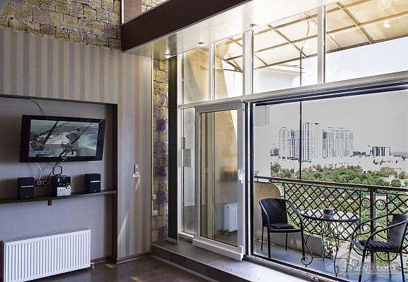 Дворівневі апартаменти біля моря, 2-кімнатна (51599), 002