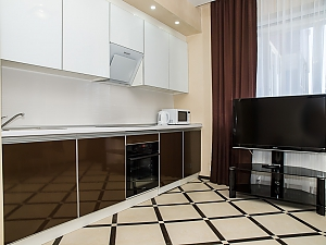 Stylish apartment in the new building, Un chambre, 004