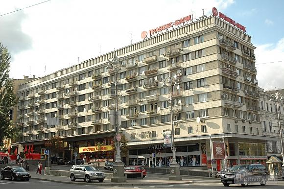 Апартаменты с камином на Бессарабской площади, 2х-комнатная (78974), 017