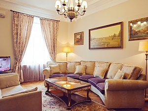 Luxury LUX three bedroom on 8B Khreshchatyk street, Trois chambres, 001