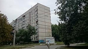 Затишна квартира біля метро Героїв Праці, 1-кімнатна, 012