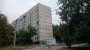 Cozy apartment near the metro Heroiv Pratsi, Studio, 012