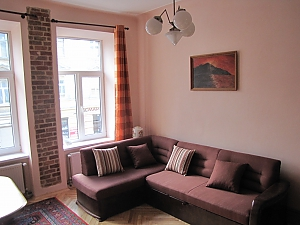 Apartment in the central part of the city, Un chambre, 003