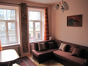 Apartment in the central part of the city, Un chambre, 001