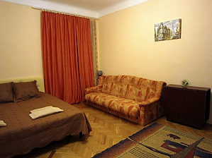 Apartment in the historical center, Monolocale, 001
