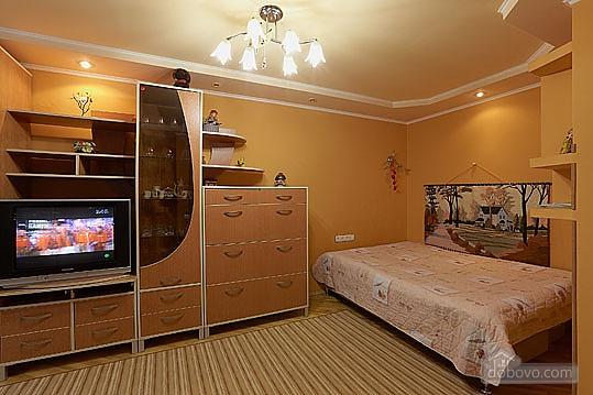 Затишна і тепла квартира у центрі, 1-кімнатна (60470), 001