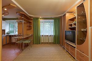 Затишна і тепла квартира у центрі, 1-кімнатна, 004
