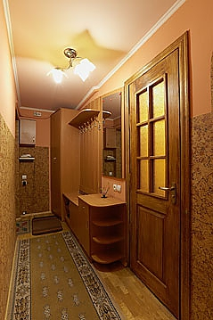 Затишна і тепла квартира у центрі, 1-кімнатна, 006