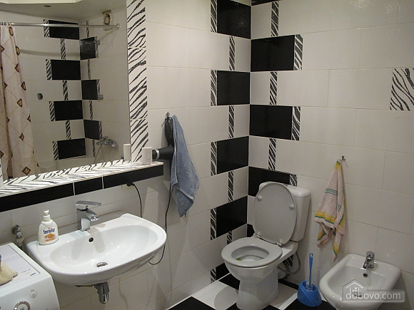Black and white apartment, Zweizimmerwohnung (21963), 004