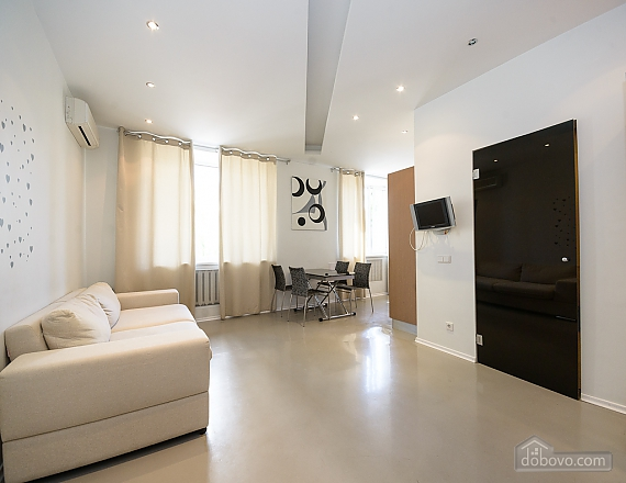 Bright and lovely one-bedroom apartment with jacuzzi, Un chambre (23668), 002