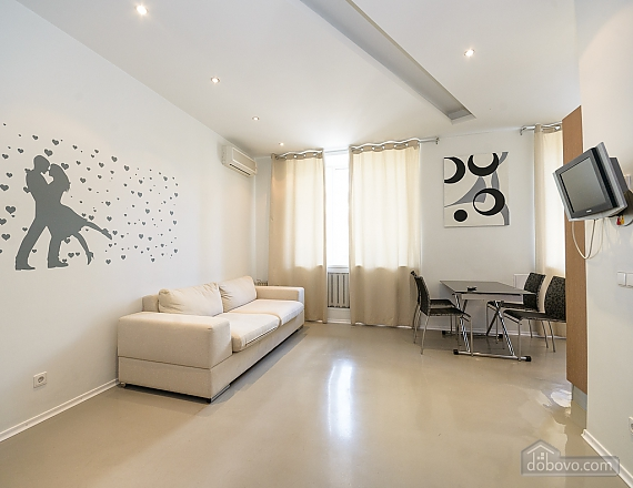 Bright and lovely one-bedroom apartment with jacuzzi, Un chambre (23668), 003