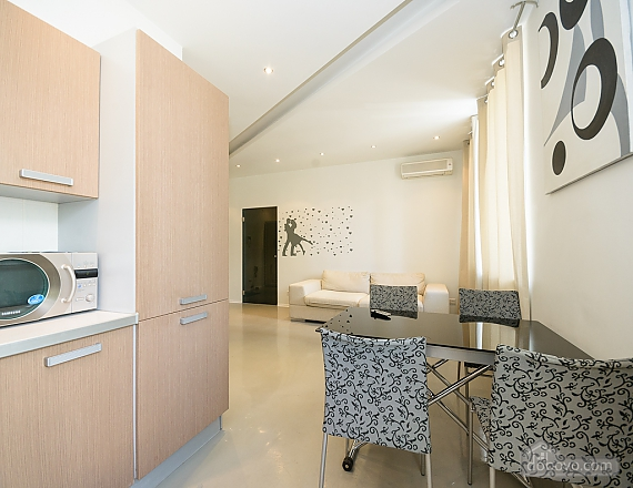 Bright and lovely one-bedroom apartment with jacuzzi, Un chambre (23668), 007