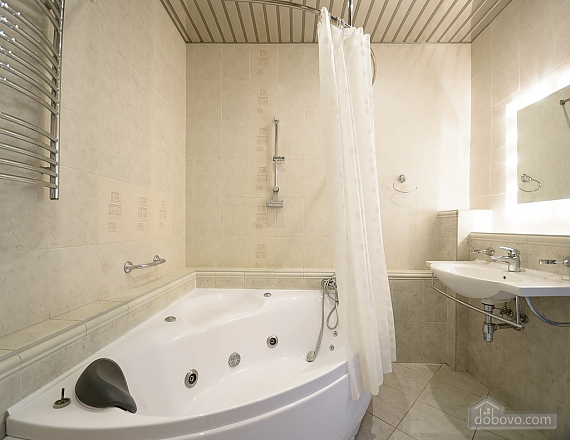 Bright and lovely one-bedroom apartment with jacuzzi, Un chambre (23668), 012