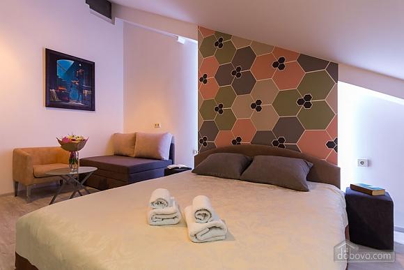 Апартаменти в центрі мансарда-студіо, 1-кімнатна (58292), 002