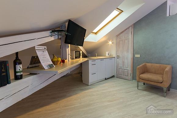 Апартаменти в центрі мансарда-студіо, 1-кімнатна (58292), 006