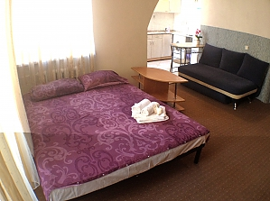 Studio apartment near Kontraktova metro station, Studio, 001