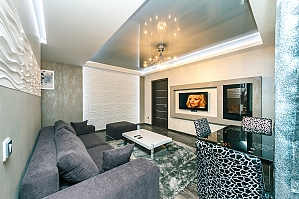 Apartment with Jacuzzi and fireplace, One Bedroom, 001