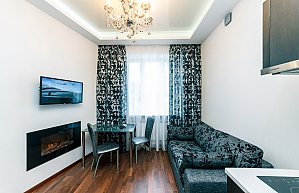 Big apartment with Jacuzzi and fireplace, Two Bedroom, 001