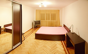 Budget apartment at Pechersk, Un chambre, 001