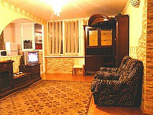 Apartment with good renovation in the center of Kiev, Una Camera, 004