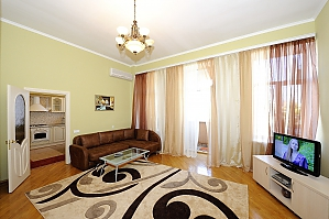Apartment close to the Metro Ploshcha Lva Tolstogo, Un chambre, 001